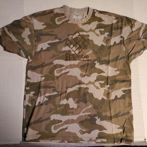 Columbia  Sportswear camouflage t-shirt